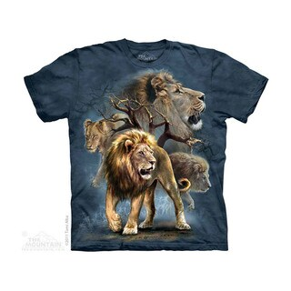 THE MOUNTAIN LION COLLAGE YOUTH T-SHIRT