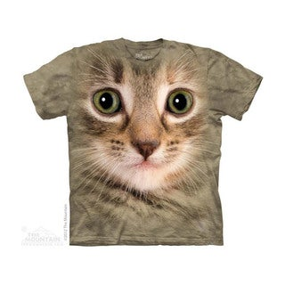 THE MOUNTAIN KITTEN FACE YOUTH T-SHIRT