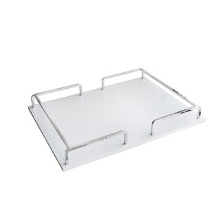 Croc Rail Rectangular Serving Tray