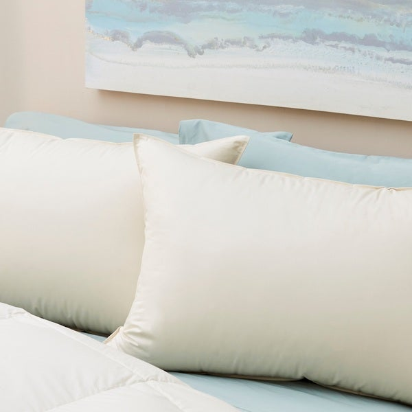 1221 Bedding LanaDown Wool/ Down Organic Cotton Pillows