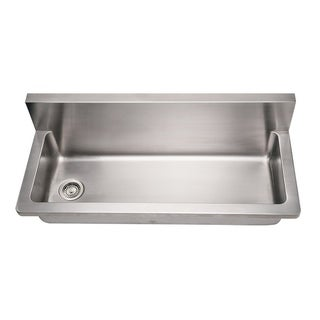 Whitehaus Collection Noah's Utility Sink - Silver