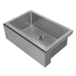 Noah Plus Collection Stainless Steel Sink with Front Apron