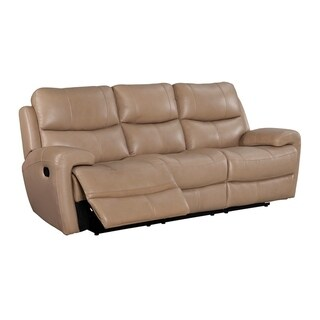 Morgan Leather Power Recliner Sofa