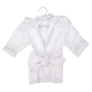 Trend Lab Color Terry Infant Robe - White|https://ak1.ostkcdn.com/images/products/18544647/P24650319.jpg?impolicy=medium