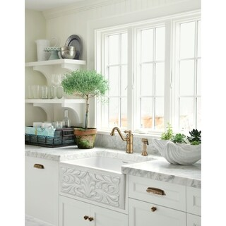 Whitehaus Collection Fireclay Reversible Sink (3 options available)