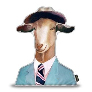 Lilipi Goat Sh Decorative Accent Throw Pillow