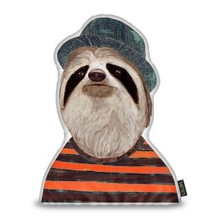 Lilipi Sloth Sh Decorative Accent Throw Pillow