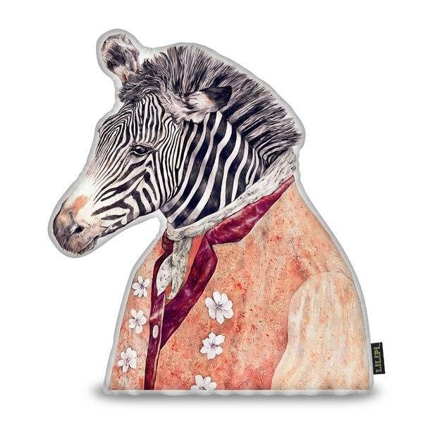 Lilipi Zebra Sh Decorative Accent Throw Pillow