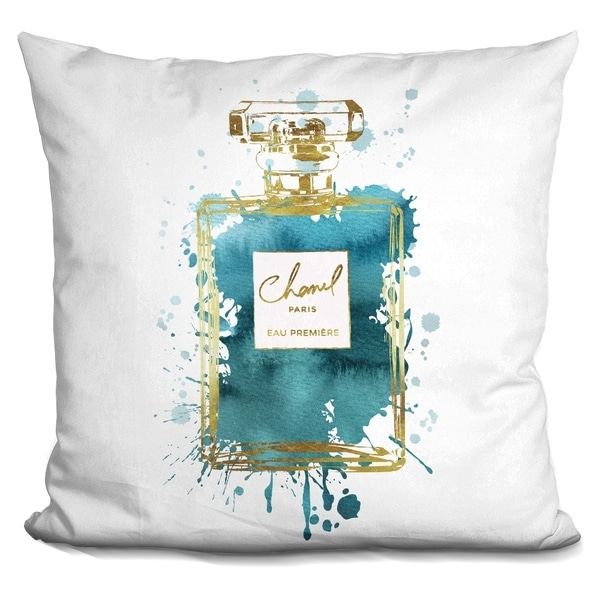 Shop Lilipi Perfume Ink Gold Dark Teal Decorative Accent Throw Mesmerizing Dark Teal Decorative Pillows