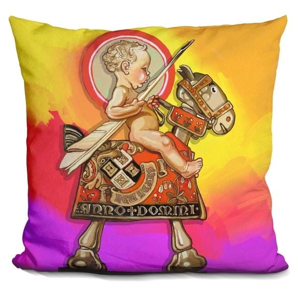 Shop Lilipi Pop Art New Year Baby Decorative Accent Throw Pillow