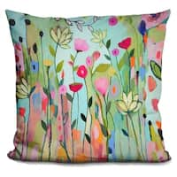 Lilipi Floral & Botanical I Decorative Accent Throw Pillow