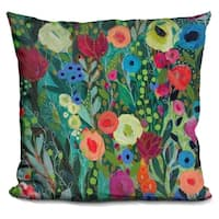 Lilipi Into The Depths Decorative Accent Throw Pillow