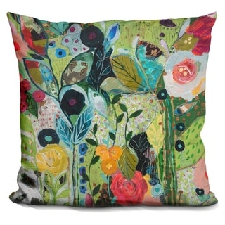 Lilipi Botanical Bliss Decorative Accent Throw Pillow