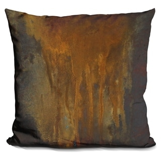 Lilipi Rusted Falls 1 Decorative Accent Throw Pillow
