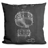 Lilipi Snare Drum (Thompson) Decorative Accent Throw Pillow