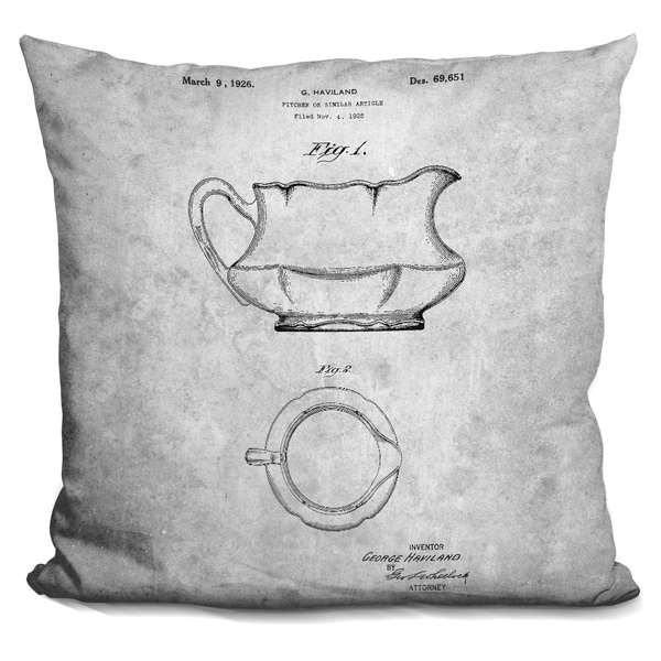 Lilipi teapot blueprint i decorative accent throw pillow free lilipi teapot blueprint i decorative accent throw pillow malvernweather
