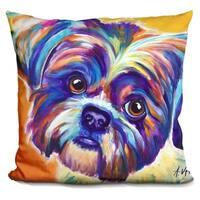 Lilipi Shih Tzu - Lacey Decorative Accent Throw Pillow