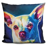 Lilipi Chihuahua - Coco Decorative Accent Throw Pillow