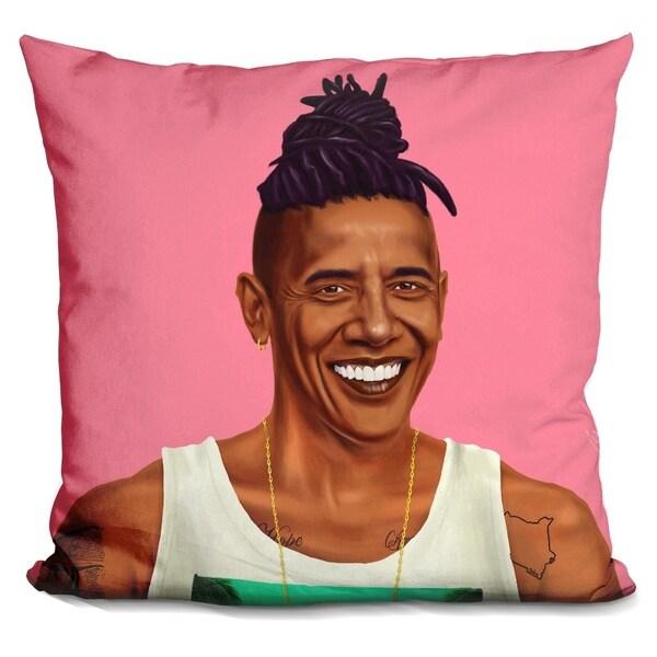 Lilipi Obama Decorative Accent Throw Pillow