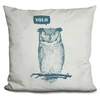 Lilipi Yolo Decorative Accent Throw Pillow