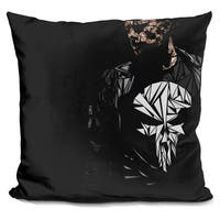 Lilipi The Punisher Decorative Accent Throw Pillow