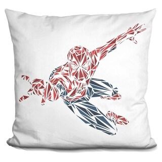 Lilipi Spiderman Decorative Accent Throw Pillow