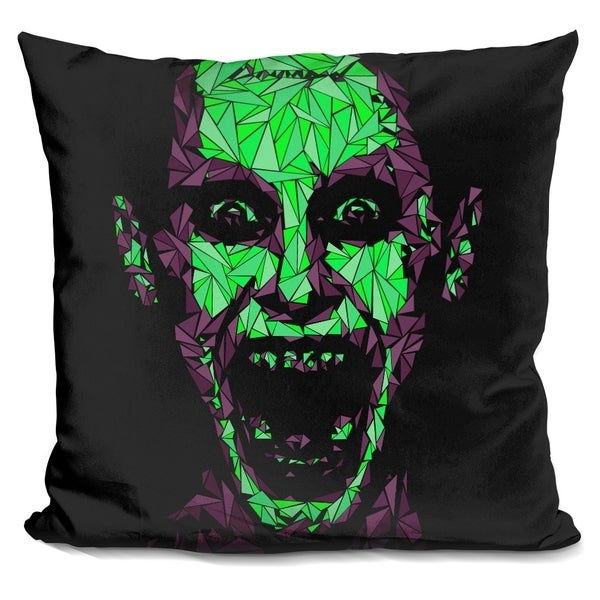Lilipi Joker Suicide Decorative Accent Throw Pillow