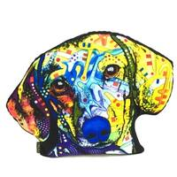 Lilipi Dachshund Shaped Decorative Accent Throw Pillow