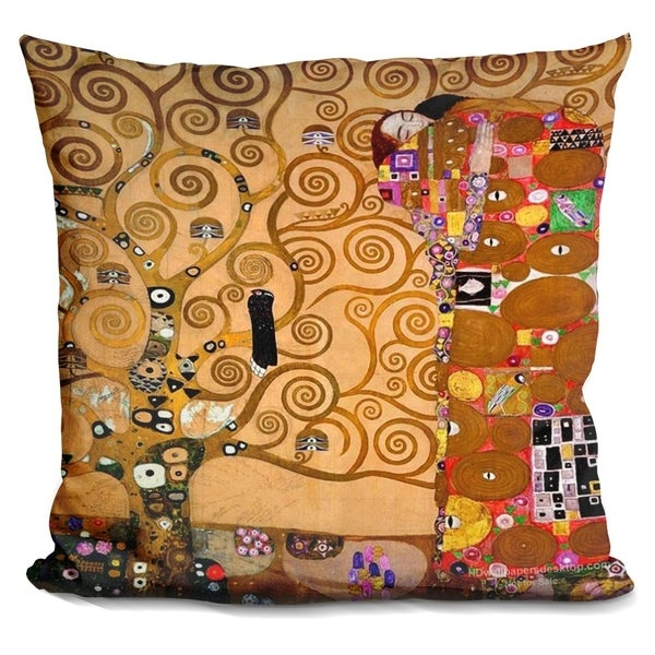 Lilipi The Tree Of Life Ii Decorative Accent Throw Pillow