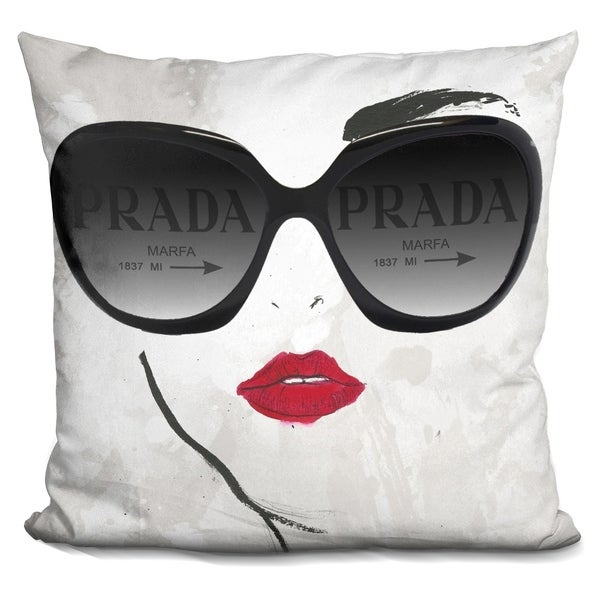Lilipi Shades Of Pradaÿ Decorative Accent Throw Pillow