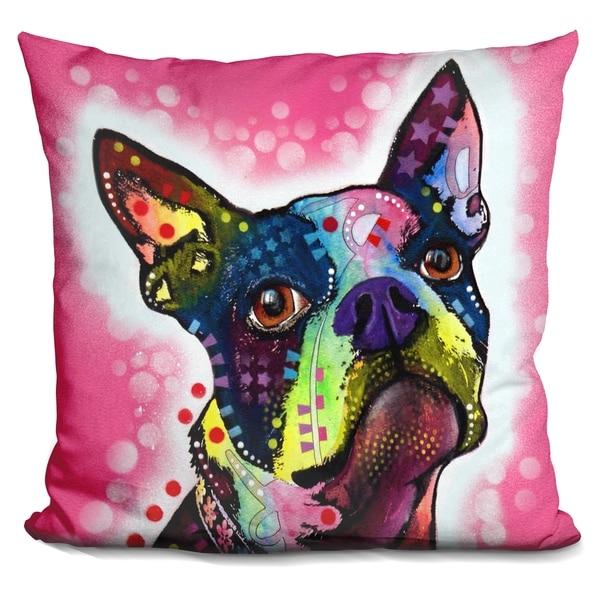 Shop Lilipi Boston Terrier Decorative Accent Throw Pillow On Sale New Boston Terrier Decorative Pillow