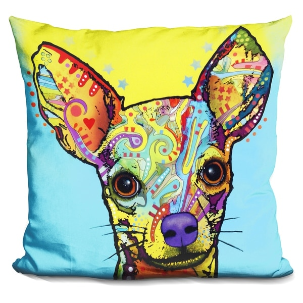 Lilipi Chihuahua Decorative Accent Throw Pillow