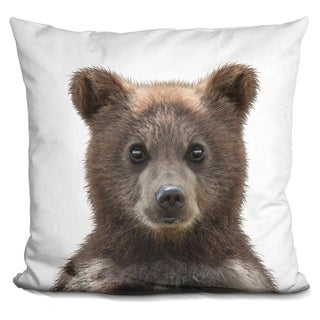 Lilipi Baby Bear Decorative Accent Throw Pillow