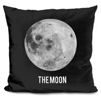 Lilipi Moon Decorative Accent Throw Pillow