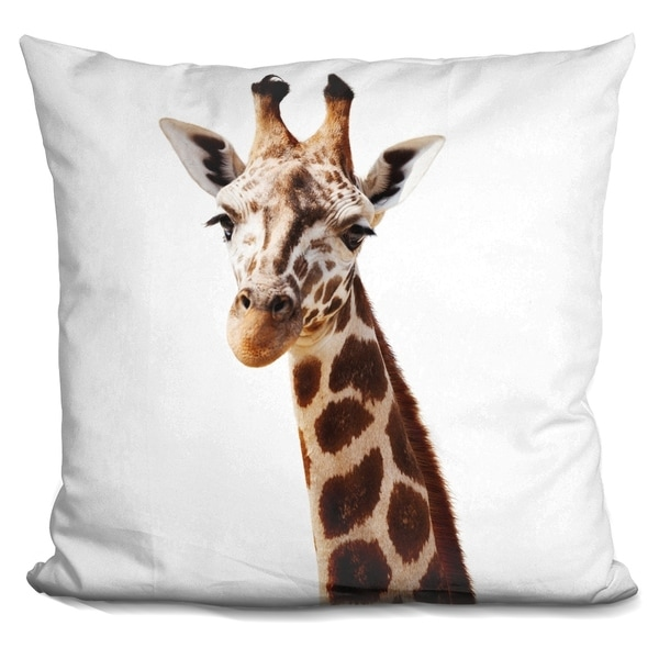 Lilipi Giraffe L P Decorative Accent Throw Pillow