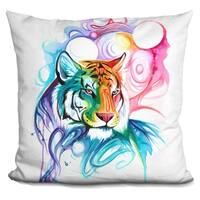 Lilipi Tiger Spirit Decorative Accent Throw Pillow