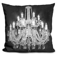 Lilipi Chandelier Decorative Accent Throw Pillow