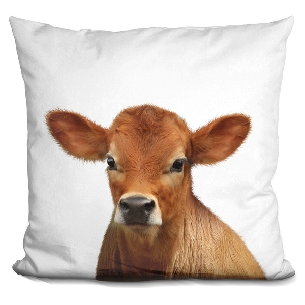 Lilipi Calf Lp Decorative Accent Throw Pillow