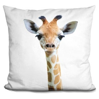 Lilipi Baby Giraffe Decorative Accent Throw Pillow