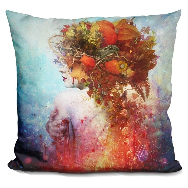 Shop Lilipi Compassion Decorative Accent Throw Pillow On Sale Adorable Decorative Throw Pillows Canada