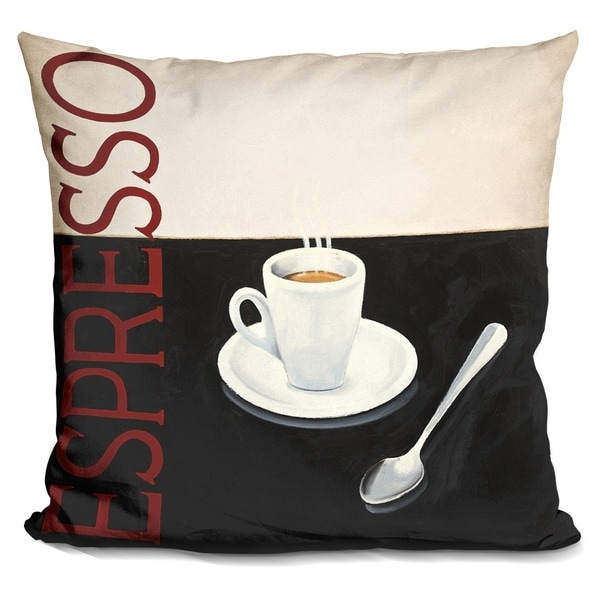 Lilipi Cafe Moderne Iv Decorative Accent Throw Pillow