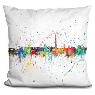 Lilipi Washington Dc 1961 - Decorative Accent Throw Pillow