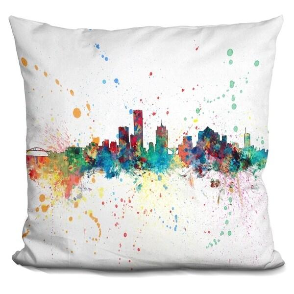 Lilipi Milwaukee Wisconsin 1972 - Decorative Accent Throw Pillow