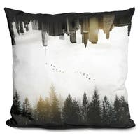 Lilipi Duality Decorative Accent Throw Pillow