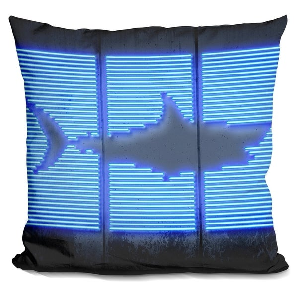 Shop Lilipi Shark Decorative Accent Throw Pillow On Sale Free Fascinating Shark Decorative Pillow