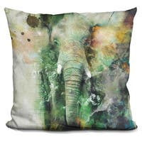 Lilipi Elephant Decorative Accent Throw Pillow