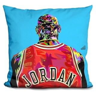 Lilipi Jordan Back Decorative Accent Throw Pillow