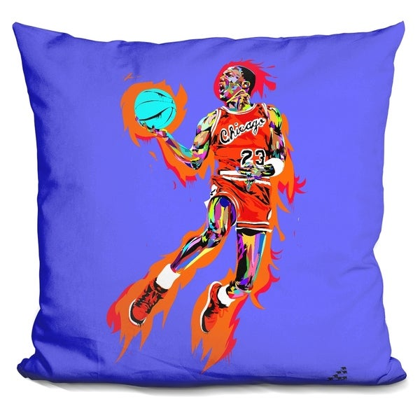 Lilipi Michael Jordan 1985 Decorative Accent Throw Pillow