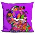 Lilipi Garfield Decorative Accent Throw Pillow