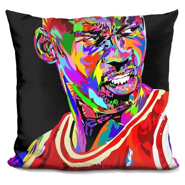 Lilipi Jordan Portrait Drome Decorative Accent Throw Pillow